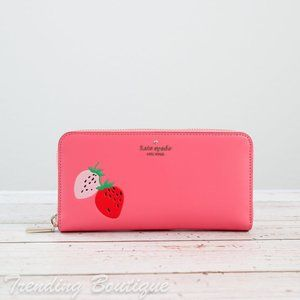 NWT Kate Spade Picnic in the Park Large Wallet